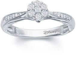 enchanted fine jewelry by disney enchanted disney fine jewelry 1 5 c t t w diamond 10k white