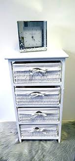 Homezone® 4 Tier <b>Bedside Cabinet Multiple</b> Drawer Shabby Chic ...