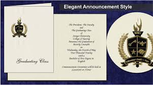 Formal College Graduation Announcements Strayer University Graduation Announcements Strayer