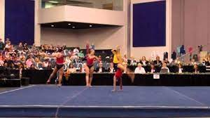 Leslie Munoz, Aimee Bruns & Tayler Harris - 2011 Acro Nationals - Dynamic  Routine - YouTube