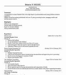 Accounts Payable Resume Summary Accounts Payable Clerk Resume Objectives Resume Sample Livecareer