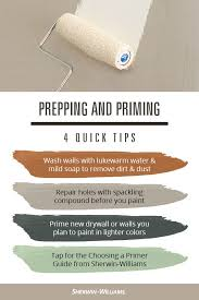paint priming tips from sherwin