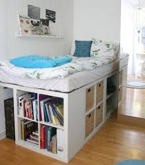 Smart storage Raise up your bed for oodles more space to keep books