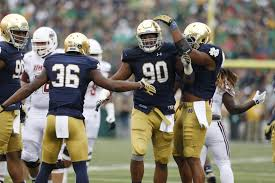 Cal Football Depth Chart 2016 Notre Dame Football Predicting Defensive Starters For 2016