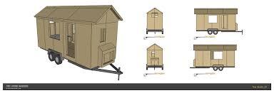 tiny house design plans. A Modern, Single Level Tiny House Design. Design Plans