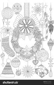Stock Vector Doodles About Christmas Decorative
