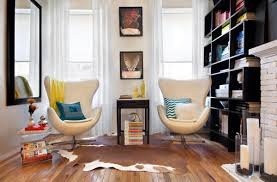 home gym furniture. Interior Design Idea: Identifying Your Own Style : Gorgeous Small Reading Space With Contemporary Home Gym Furniture