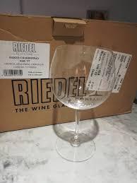 12 riedel chardonnay wine glasses