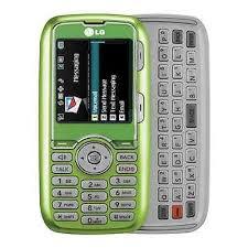lg slide phone sprint. lg rumor lx260 slider cell phone sprint camera qwerty clean esn ~lime green~ slide