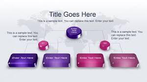 Modern Org Chart 3d Org Chart Diagram Idea For Powerpoint Slidemodel