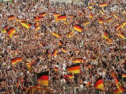 نتيجة بحث الصور عن الجمعور الألماني في كأس العالم 2006