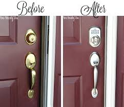 double front door handles. Schlage Front Door Entry Locks How To Add Curb Appeal Without Spending A Fortune . Double Handles N