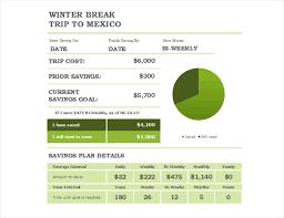 Savings Template Savings Estimator