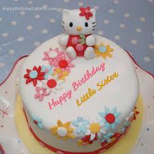 o kitty birthday cake for little sister