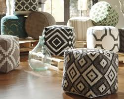 great tips  ideas for decorating with pouf ottomans