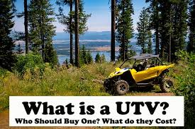 Start your free online quote and save $536! What Is A Utv Who Should Buy One And How Much They Cost Atv Man