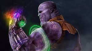 1280x720 Thanos with Infinity Gauntlet ...