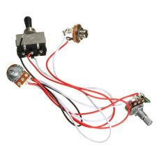 price list new electric guitar wiring harness kit 3 way toggle Guitar Varitone Wiring Harness electric guitar wiring harness kit 3 way toggle switch 1 volume 1 tone 500k pot