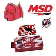 msd 6al parts accessories msd premium ignition kit 6425 digital 6al box rev limiter blaster ss coil 8207