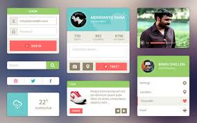 Free Html Web Ui Kits For Websites And Apps Ewebdesign