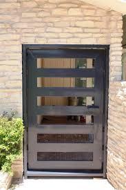 Hand Made Modern Entryway Door / Gate by Across Metal Designs ...