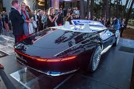 2018 mercedes maybach 6. Unique 2018 2018 Vision MercedesMaybach 6 Cabriolet  Interior Exterior And Drive  Image May Contain 2 People People Smiling Car For Mercedes Maybach