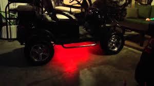 Golf Cart Underbody Lights Ledglow Golf Cart Underbody Kit