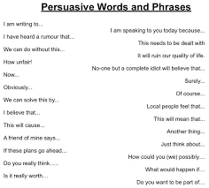 best persuasive words ideas marvelous synonym swanda writing resources persuasive words and phrases
