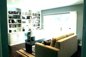 bookshelf with desk built in computer new wall unit whole plans natural maple floor ceiling booksh