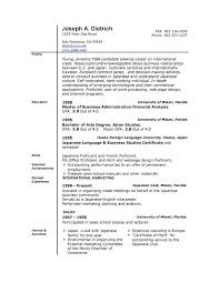 Resume Sample Download In Word Download A Free Resume Template In Microsoft Word Simple Resume Format