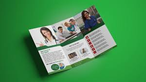make tri fold brochures how to design professional tri fold brochure in photoshop