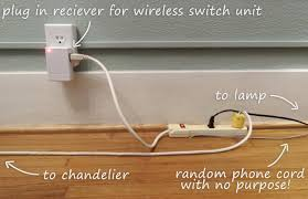 no wiring lighting. How To Add A Wireless Lightswitch Light Room Without Hardwired Outlet No Wiring Lighting E