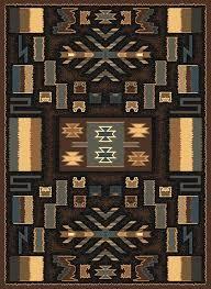 native american area rugs canada brown multi southwest carpet modern lodge