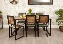industrial chic dining table hshire furniture scheme of 8 seater dining table and chairs