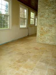 repair travertine floor tile in a kitchen how to repair s travertine floor tile do things