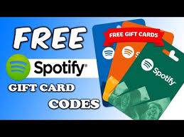spotify premium how to get spotify gift card code for free 100 working
