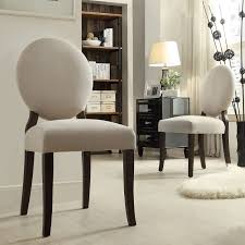 INSPIRE Q Paulina Grey Fabric Round Back Dining Chair (Set of 2) by iNSPIRE  Q