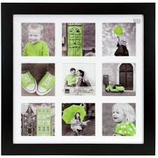 ph44060 0 langford 14 14 wood collage frame black with white mat