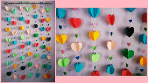 Hang The Charts On The Wall How To Make Easy Paper Wall Hanging