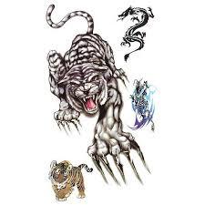 Verashop Nalepovací Tetování Tygr Ii
