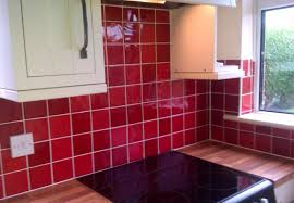 Colour For Kitchen Colourful Kitchen Tiles