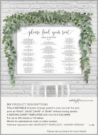 seating chart for wedding reception wedding reception table seating chart template template resume