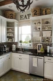 1341 best kitchen images on above kitchen cabinet decor