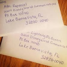 how to address a letter with a po box write a letter to a disney character and get a postcard in return