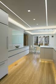for alternative kitchen lighting options try plaster in led lighting options such as the reveal wall wash unique led lighting for kitchens and dining room