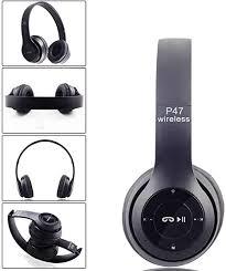 <b>P47 Bluetooth</b> Headphones, Over-Ear Wireless Stereo: Amazon.co ...