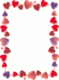 Microsoft Word Hearts Free Heart Border For Word Download Free Clip Art Free