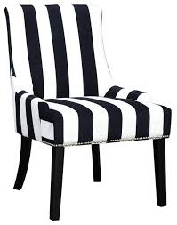 impressive black and white striped accent chair with contemporary armchairs w