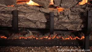 learn how to replace glowing embers in a gas fireplace to get a natural fire look