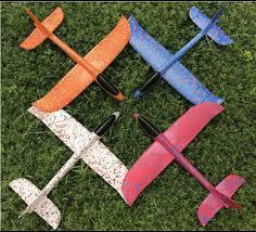 Máy bay xốp đồ chơi thông minh globol